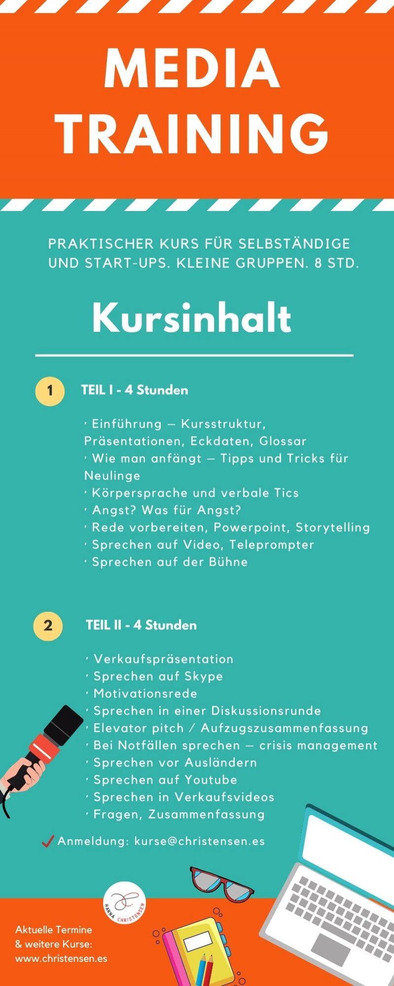 Medientraining Kurs online live