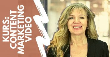 Kurs online live Content Marketing Video